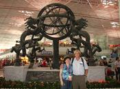 Miraculous meeting of Rozalina Gutman with UC Berkeley Prof. of Psychology Decker Keltner at Beijing Airport