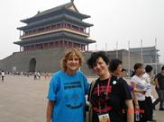 Rozalina Gutman with Prof. Crystal Olson, after presentation @Int'l Symposium, Beijing, 2010, showing support for the message of Advocacy for Music Education from C.H.A.R.I.S.M.A. Foundation