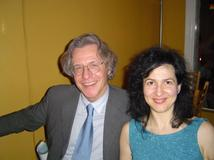 Ms. Rozalina Gutman meeting renowned piano manufacturer Paolo Fazioli, Oakland, CA, 04.2004