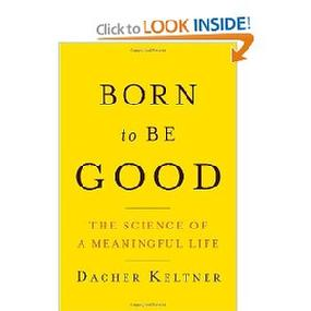 "Order the book ""Born to Be Good: The Sience of a Meaningful Life"" by UCB Prof. Decker Keltner, whose mysterious powers are yet to be understood and studied.  Ms. Rozalina Gutman was very grateful to Mr. Keltner for his personal assistance & spiritual guidance at the Beijing Airport, while on the way back from int'l conference"